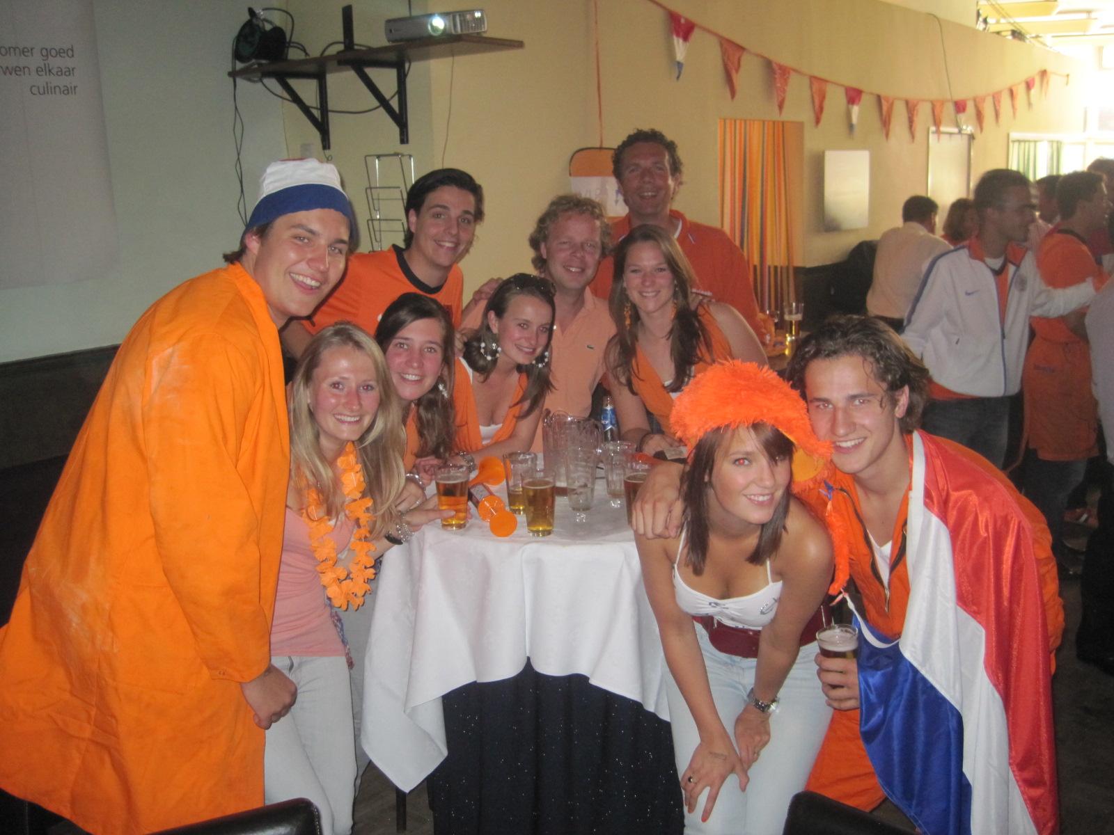 Nederland-Denemarken WK 2010